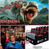 2012 the Most Popular Amusement Park Machine 5D Cinema Simulator 3d 4d 5d 6d cinema theater movie motion chair seat