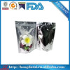 customized clear waterproof food bag with ziplock top