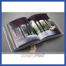 Custom Offset Printing magazine/ catalogue /brochure with cmyk printing