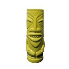 Yellow Beverage Mug Ceramic Tropical Tiki Mug