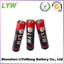 AAA battery 1.5v aaa r03 um4 carbon zinc battery