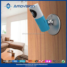 Amovision hot sale QF401 wifi Network Camera, wifi IP Camera, wireless wall clock camera