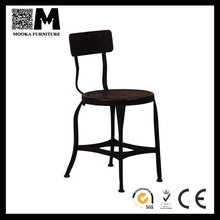 black industrial series home furniture antique style dining chairs for sale