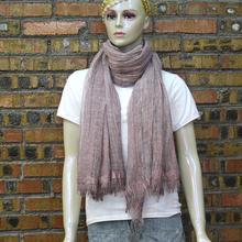 China YiWu market 70% pashmina 30% silk scarf wool silk reversible scarf manufactures