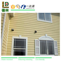 WPC (wood plastic composite) exterior wall panel for villa house