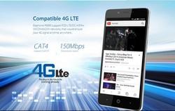 2015 New Elephone 4G LTE Smartphone 64bit MTK6732 Quad Core Android 5.0 2GB RAM 16GB ROM Dual Sim Card Elephone P6000
