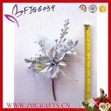 Brand new artificial single stem poinsettia flower made in China