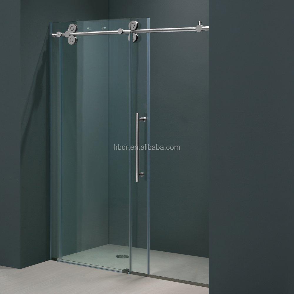 Sliding Open Style Glass Door And Frameless Frame Style Hinged Glass ...