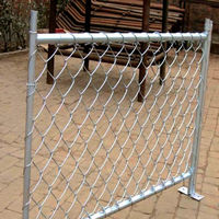 Professional factory supply low price hot dipped galvanized chain link fence