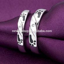 fashion ring key rings fobs