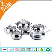 professional stainless steel italian prestige cookware set