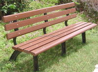 garden wpc recycled plastic outdoor bench wpc decorative outdoor benches composite wood outdoor bench