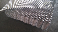 Expanded Metal Lowes Steel Grating Stretch Mesh
