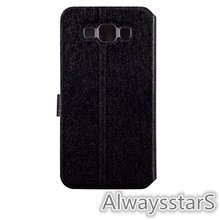 High Quality Wallet Leather Back Flip Cover for Samsung GALAXY Grand Max G7200 Case