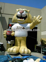 advertising inflatable tiger,giant inflatable tiger cartoon