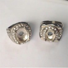 Yiwu Aceon Stainless Steel Hot Newest Prong Setting Four Claw Inlay Interchangealbe Ring