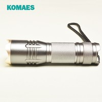 2015 New Design 80LM Focus Zoomable LED Flashlight