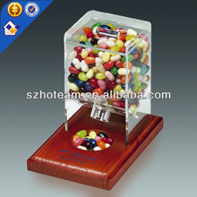 desktop acrylic candy boxes acrylic sweet display cases for candy store and shops