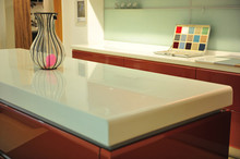 kitchen countertop,sink made of absolute solid surface by Bitto