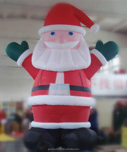 Christmas Decoration Inflatable Santa for Holiday and Market Promotion