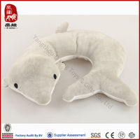 Water life design set cute dolphin child neck pillow toy