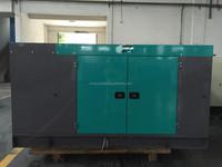 Stock!!! 125kva Denyo silent diesel generator price by Cummins