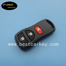 Top Best 315 mhz 2+1 buttons auto remote control key for nissan x-trail remote key