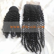 Stock 3.5x4 Body Wave 613 Blonde Free Parting Brazilian Virgin Hair Lace Closure with Baby Hair