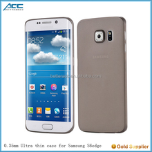 all around perfectly fit for S6 edge, 0.35mm ultra thin phone case for Samsung S6 edge
