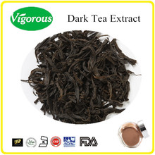 GMP ISO certificate 20%Polyphenols pure instant dark tea extract/dark tea powder