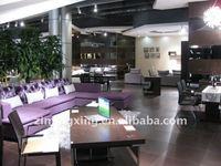 home furniture best sale sectional sofa purple fabric sofa