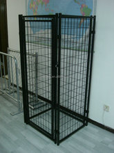 cheap chain link dog kennel/ chain link metal dog kennel/metal large dog kennels