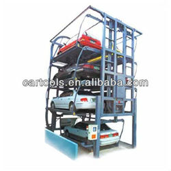 Vertical automated rotary car parking solutions