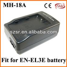 MH-18A EL3E quick camera battery charger for Nikon D80