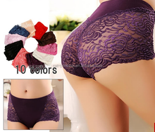 Wholesale hot 8 colors lace sexy women underwear