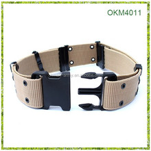 2014 best sell Nylon cotton canvas strong buckle S tactical military belt