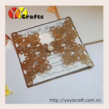 unique laser cut wedding invitations,handmade engagement invitations with diamond