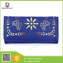 Bottom price most popular purse leather wallet bag woman