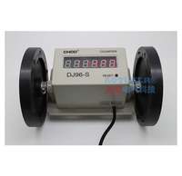 DJ96-S electronic meter machine Wheel 6 digit digital counter cable length measuring device