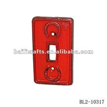 cast iron light switch cover