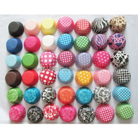 100000pcs greaseproof paper mixed designs cupcake liners baking cups