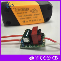 20w dali dimmable 300ma led driver constant current