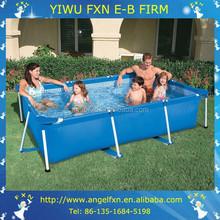 Wholesale garden rectangular above ground swimming pool