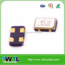 voltage compensators oscillator 7.0*5.0mm smd crystal osillator crystal 7.372mhz high frequency hearing test