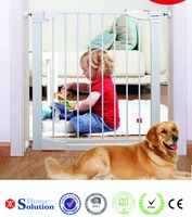 Top selling new design hardware Indoor Dog Door 76cm ~86cm iron fence dog kennel