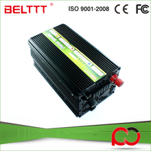 High voltage and low voltage alarm power inverter 2000w with ups charger