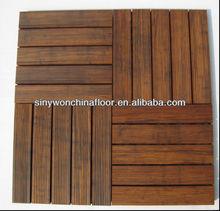 Anti-slip Bamboo Deck Tile For Bathroom