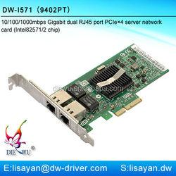 Intel 82571 9402PT PCI Express Dual port Gigabit Server Adapter