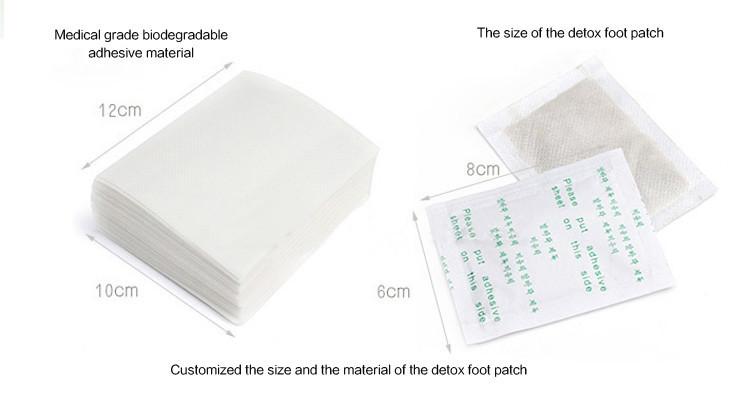 private label detox patch foot oem service low moq d sintoxication ionique bain de pieds de. Black Bedroom Furniture Sets. Home Design Ideas