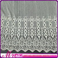 Factory Wholesale Top Quality Summer Design Fabric Neck Embroidery Designs